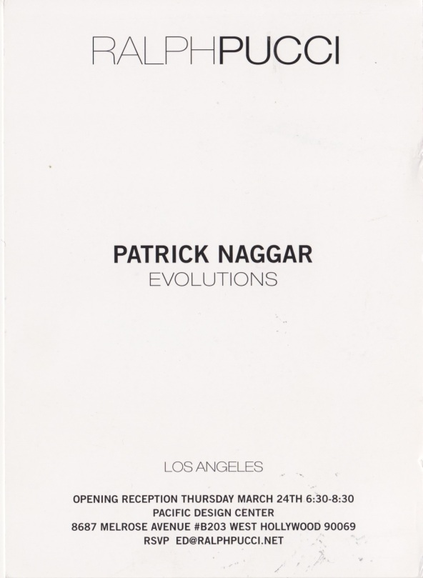 Exhibit Alexandre Biaggi Gallery - Patrick Naggar
