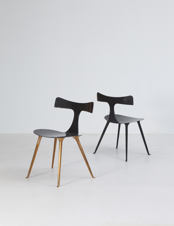 ICARUS Chair Bronze And Carbone U2013 Patrick Naggar