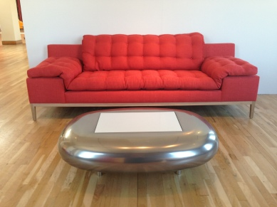 Eileen sofa red