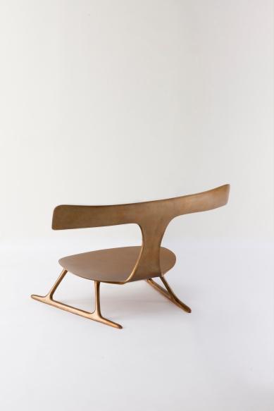 Icarus Bronze Chair - Patrick Naggar