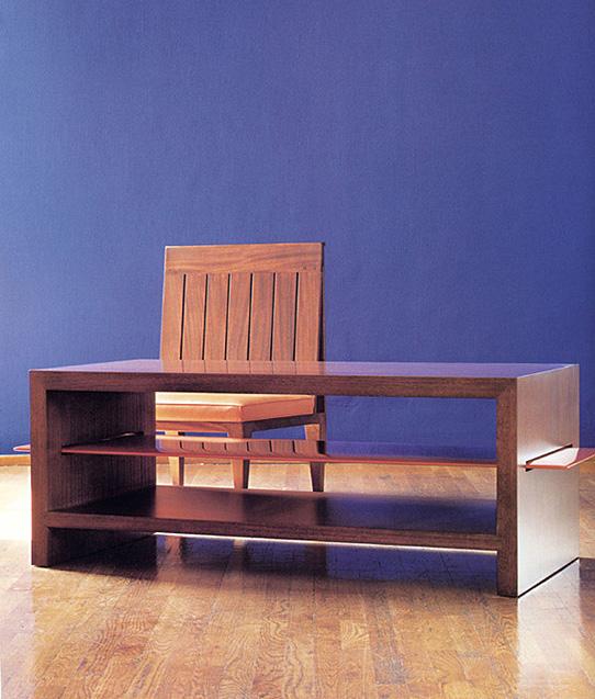 Kyoto coffee table / Delphi chair