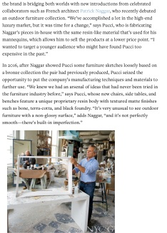 Ralph Pucci Introduces High Style to the Masses - New York Cottages & Gardens - December 2017 - New 2